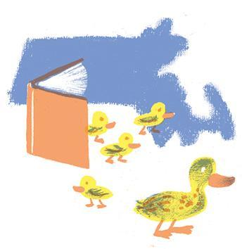 Mass. state children's book: Make Way for Ducklings, 2003